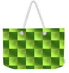 Checkerboard Weekender Tote Bag