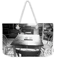 Checkers Weekender Tote Bag