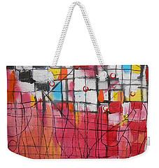 Checkmate Weekender Tote Bag