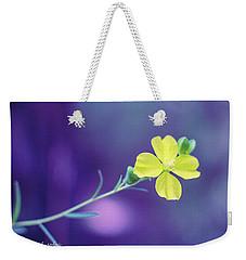 Cheer Up Buttercup Weekender Tote Bag by Stefanie Silva