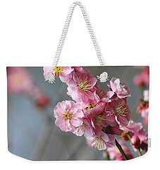 Cheerful Cherry Blossoms Weekender Tote Bag