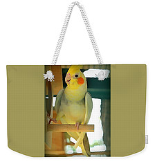 Cheerful Cockatiel Weekender Tote Bag