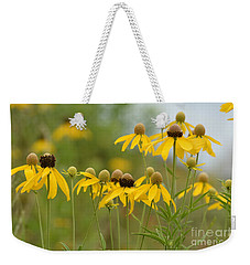 Weekender Tote Bag featuring the photograph Cheerful by Maria Urso