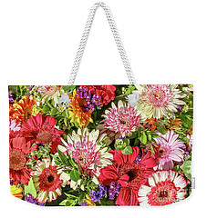 Cheerful Spring Collection - Gerbera Daisies Weekender Tote Bag