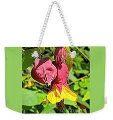 Cheerfully Bell Flower Weekender Tote Bag