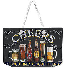 Cheers  Weekender Tote Bag by Debbie DeWitt