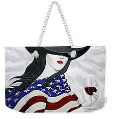 Cheers To America 1 Weekender Tote Bag