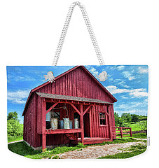 Cheese Factory Weekender Tote Bag