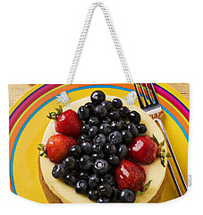 Cheesecake With Fruit Weekender Tote Bag