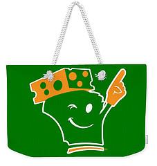 Cheeseheader Weekender Tote Bag