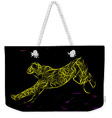 Cheetah Body Built For Speed Weekender Tote Bag by Miroslava Jurcik