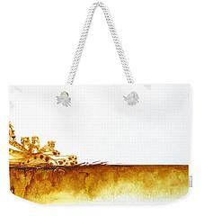 Cheetah Mum And Cubs - Original Artwork Weekender Tote Bag