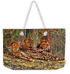 Cheetahs Den Weekender Tote Bag