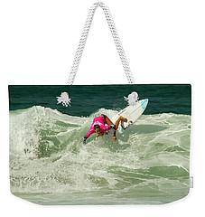 Chelsea Tuach Surfer Girl Weekender Tote Bag
