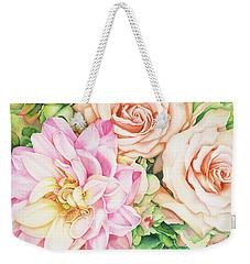 Chelsea's Bouquet Weekender Tote Bag