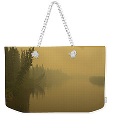 Weekender Tote Bag featuring the photograph Chena River by Gary Lengyel