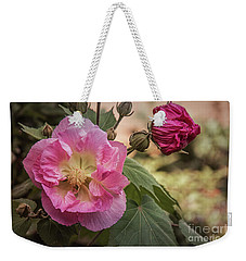 Weekender Tote Bag featuring the photograph Cher by Elaine Teague