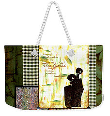 Cherished Friends Weekender Tote Bag by Angela L Walker
