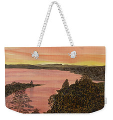 Cherokee Lake - Golden Glow Weekender Tote Bag