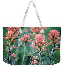 Cherokee Prairie Paintbrush Weekender Tote Bag