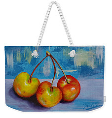 Cherries Trio Weekender Tote Bag
