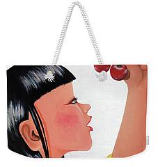 Cherry Weekender Tote Bag