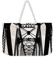 Cherry Avenue Bridge Weekender Tote Bag