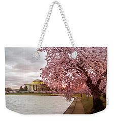 Cherry Blossom At Tidal Basin, Dc Weekender Tote Bag
