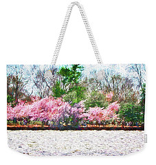 Cherry Blossom Day Weekender Tote Bag
