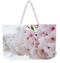 Cherry Blossom Focus Weekender Tote Bag