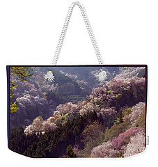 Cherry Blossom Season In Japan Weekender Tote Bag