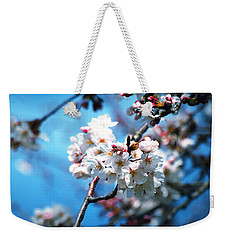 Cherry Blossoms In The Light Weekender Tote Bag