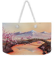 Cherry Blossoms In The Mist - Revisited Weekender Tote Bag