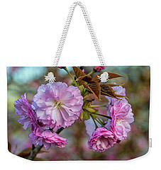 Cherry Blossoms Weekender Tote Bag by Pat Cook
