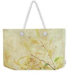 Cherry Branch On Rice Paper Weekender Tote Bag