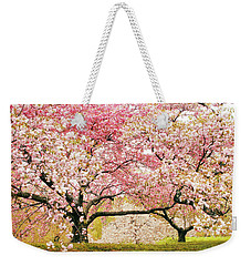 Cherry Delight Weekender Tote Bag by Jessica Jenney