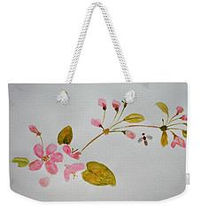 Cherry Pink Weekender Tote Bag