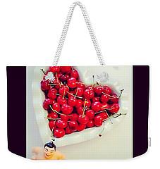 #cherry #sumo Weekender Tote Bag