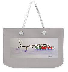 Cherry Tomatoe Vine Weekender Tote Bag