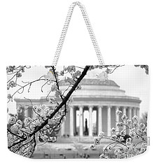 Cherry Tree And Jefferson Memorial Elegance  Weekender Tote Bag