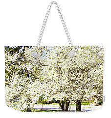 Cherry Trees In Blossom Weekender Tote Bag