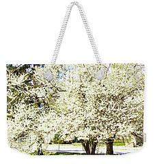 Cherry Trees In Blossom Weekender Tote Bag by Irina Afonskaya