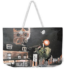 Chertsey At Night 2 Weekender Tote Bag by Carole Robins