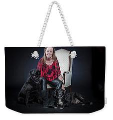 Cheryl 002 Weekender Tote Bag by M K  Miller