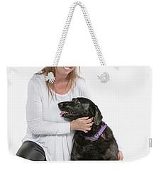 Cheryl 03 Weekender Tote Bag by M K  Miller