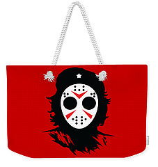 Weekender Tote Bag featuring the digital art Che's Halloween by Christopher Meade
