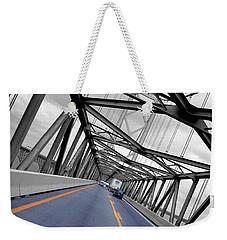 Chesapeake Bay Bridge Weekender Tote Bag