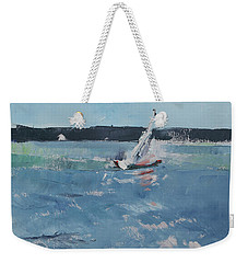 Chesapeake Bay Sailing Weekender Tote Bag