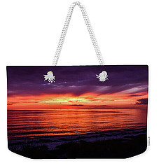 Chesapeake Bay Sunset Weekender Tote Bag