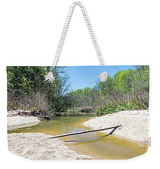 Weekender Tote Bag featuring the photograph Chesapeake Tributary by Charles Kraus